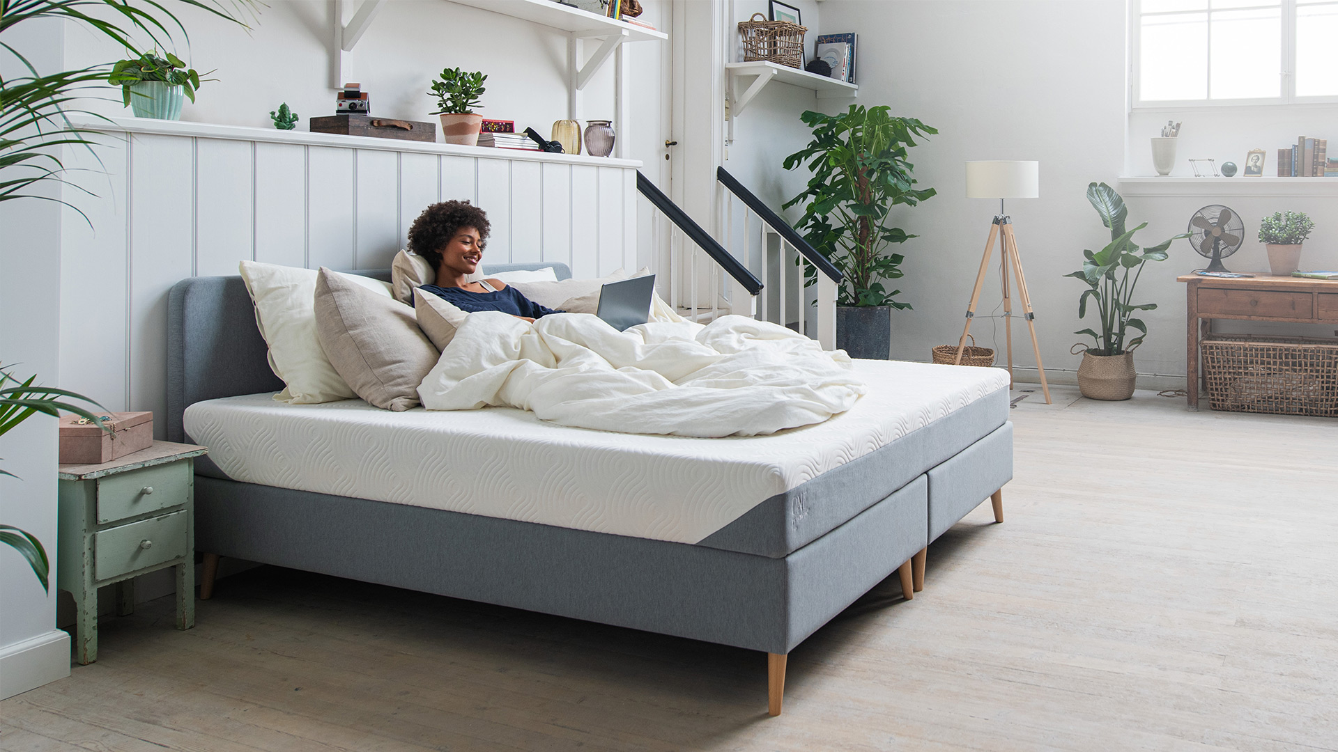 Wat is het verschil tussen een boxspring en een bed?